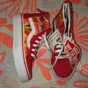 Vans kids Fruit Glitter shoes Sz 10.5 NEW